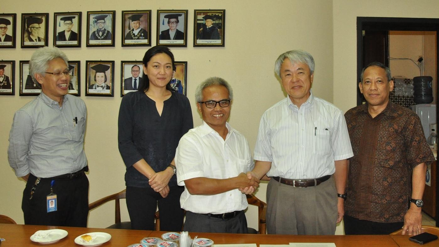 Kerjasama FTSL dengan Kyoto University