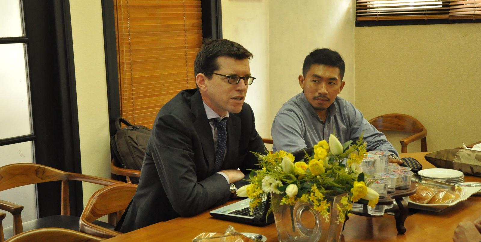 Kunjungan  PT. Haskoning Indonesia Ke FTSL