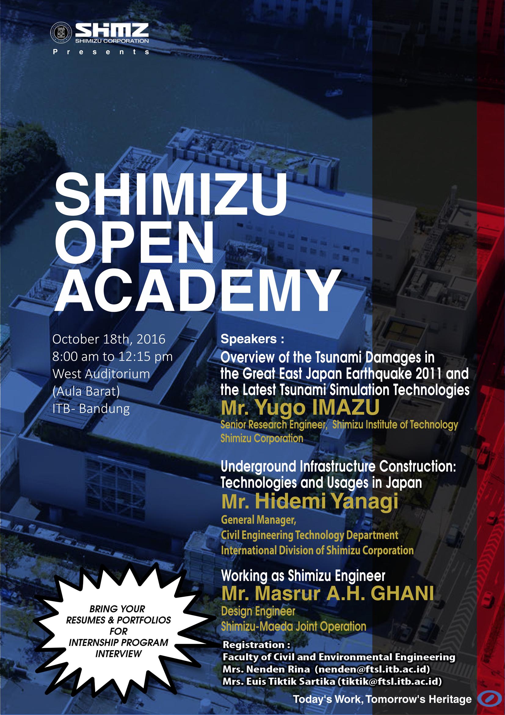 SHIMIZU OPEN ACADEMY