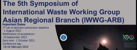 The 5th Symposium of International Waste Working Group Asian Regional Branch (IWWG-ARB)